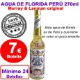 7,00€ Agua Florida Perú Murray & Lanman 24 botellas de 270 ml