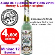 4,60€ Agua de Florida MURRAY & LANMAN 12 botellas de 221 ml