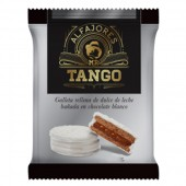 Alfajor blanco con dulce de leche Tango 55 gr