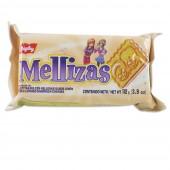 Galletitas dulces rellenas sabor limón Mellizas Bagley 112 gr
