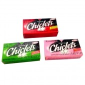 Chicle con sabor 2 pastillas Adams 2,80 gr