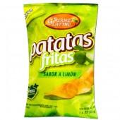 Patatas fritas sabor a limon Gourmet Latino 45 gr