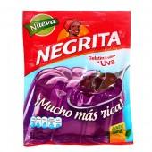 Gelatina sabor a uva Negrita 160 gr