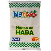 Harina de habas Nativo 500 gr