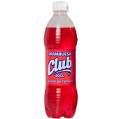 Refresco de frambuesa Club 500 ml