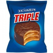 Alfajor de chocolate triple portezuelo 60 gr